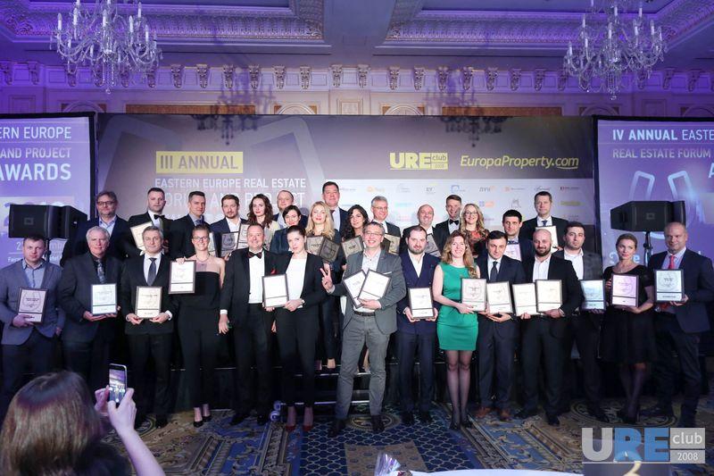 Названы победители международной премии в недвижимости EE Project Awards 2017