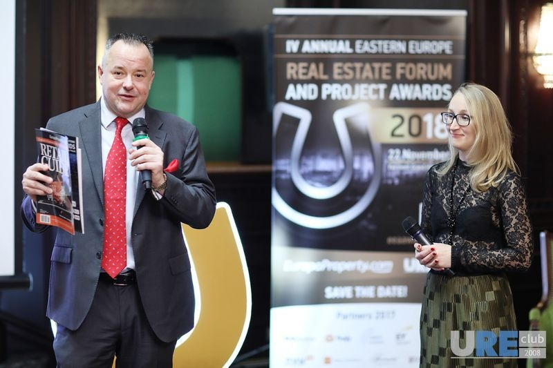 Craig Smith, EuropaProperty.com and Olga Solovei, URE Club