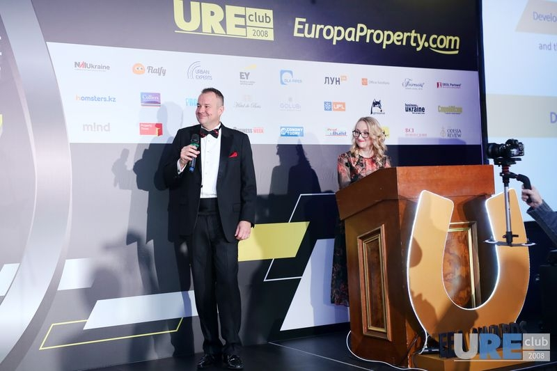 Craig Smith , EuropaProperty.com and Olga Solovei, URE Club
